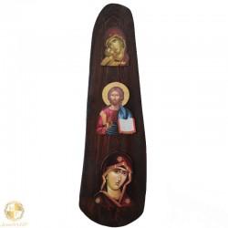 Three-dimensional ecclesiastical image
