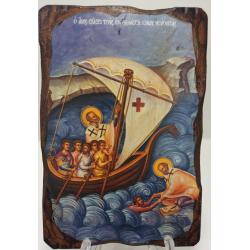 Saint Nicholas - Saving the people in sea