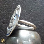 Handmade female ring with boat