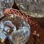 Handmade bracelet by copper