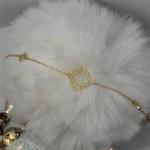 Female bracelet by gold