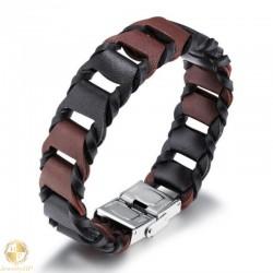 Male bracelet by leather