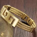Bracelet with meander