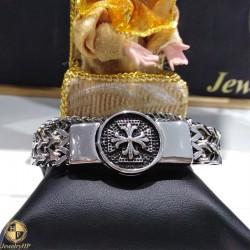 Male stainless steel bracelet