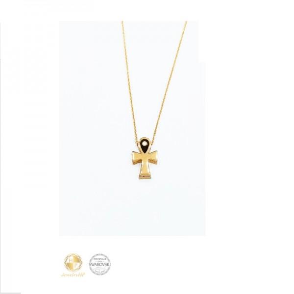 Cross necklace by Swarovski