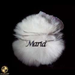Necklace with name Maria
