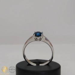 Silver ring with Swarovski crystal