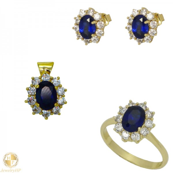 Jewelry set by gold 410615