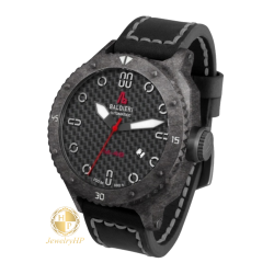 Male watch Baldieri black color
