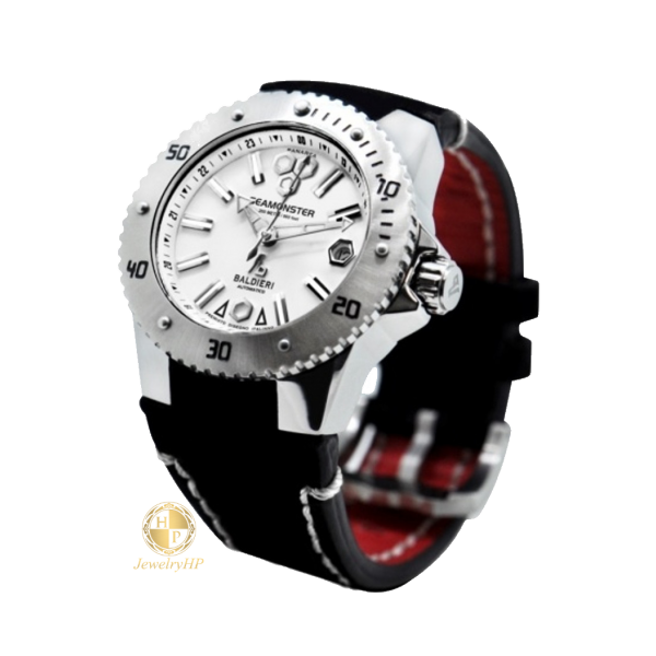 Female Baldieri watch with white wreath
