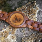 Handmade wooden watch