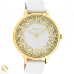 OOZOO woman watch with leather strap W4107C10566