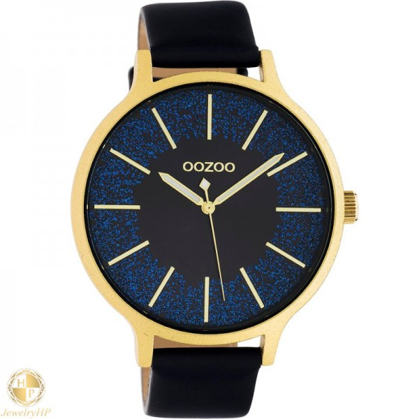 OOZOO woman watch with leather strap W4107C10568