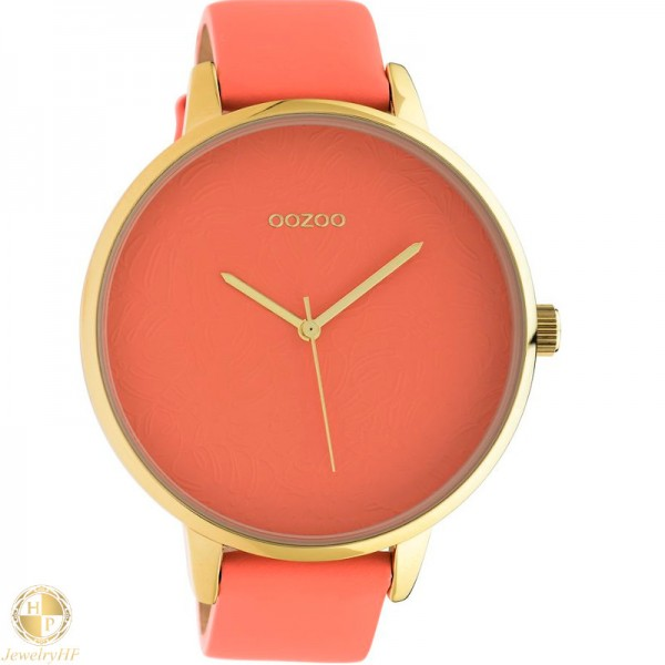 OOZOO woman watch with leather strap W4107C10572