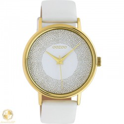 OOZOO woman watch with leather strap W4107C10576