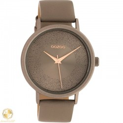 OOZOO woman watch with leather strap W4107C10578