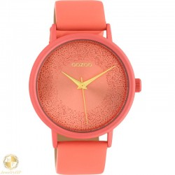 OOZOO woman watch with leather strap W4107C10580