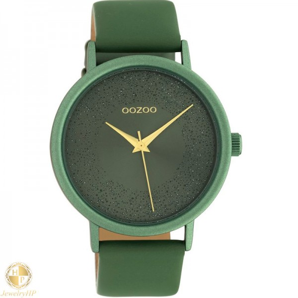 OOZOO woman watch with leather strap W4107C10582