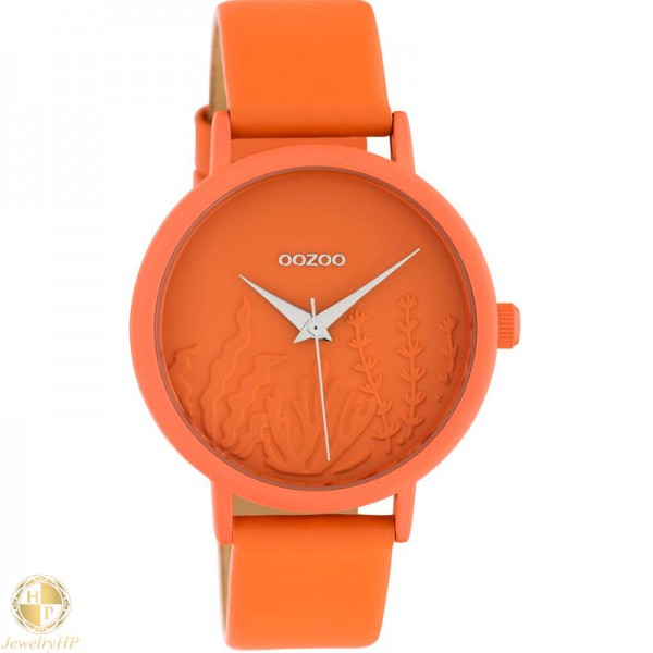 OOZOO woman watch with leather strap W4107C10605