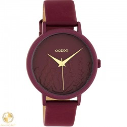 OOZOO woman watch with leather strap W4107C10609