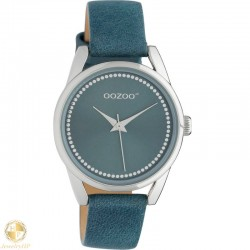 OOZOO kids watch with blue leather strap W4107JR307