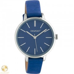 OOZOO kids watch with classic blue leather strap W4107JR313