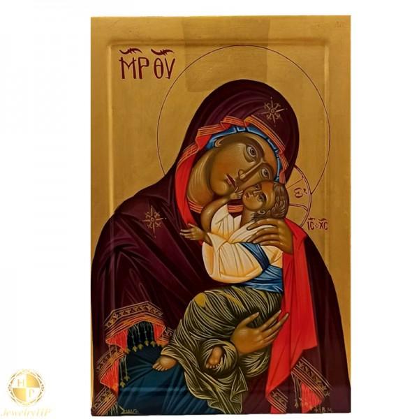 Virgin Mary the Glycophilous Hagiography