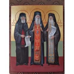 Saint Paisios , Jacob and Porfyrios Hagiography