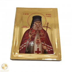 Saint Luke the Physician - Polished icon