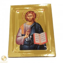 Jesus Christ the Almighty - Polished icon