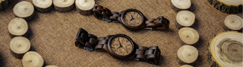 χειροποίητα ξύλινα ρολόγια